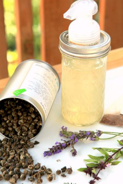 herbal tea hand soap is easy to make with this recipe
