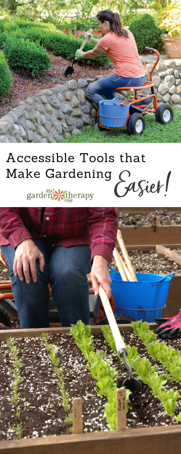 "text overlay ""Accessible Tools that Make Gardening Easier!"""