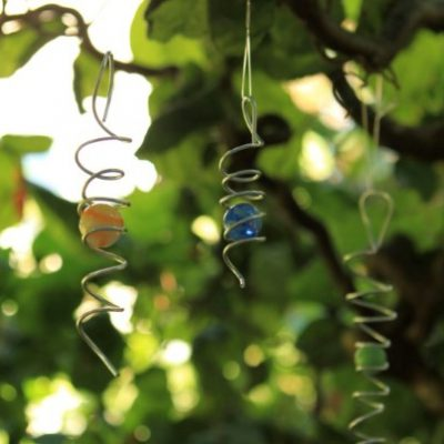 VIDEO: Bring Light and Movement to the Garden with a DIY Wind Spinner