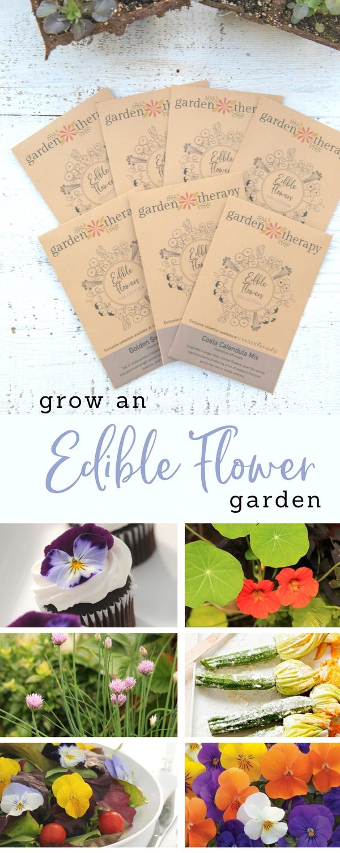 Grow an Edible Flower Garden