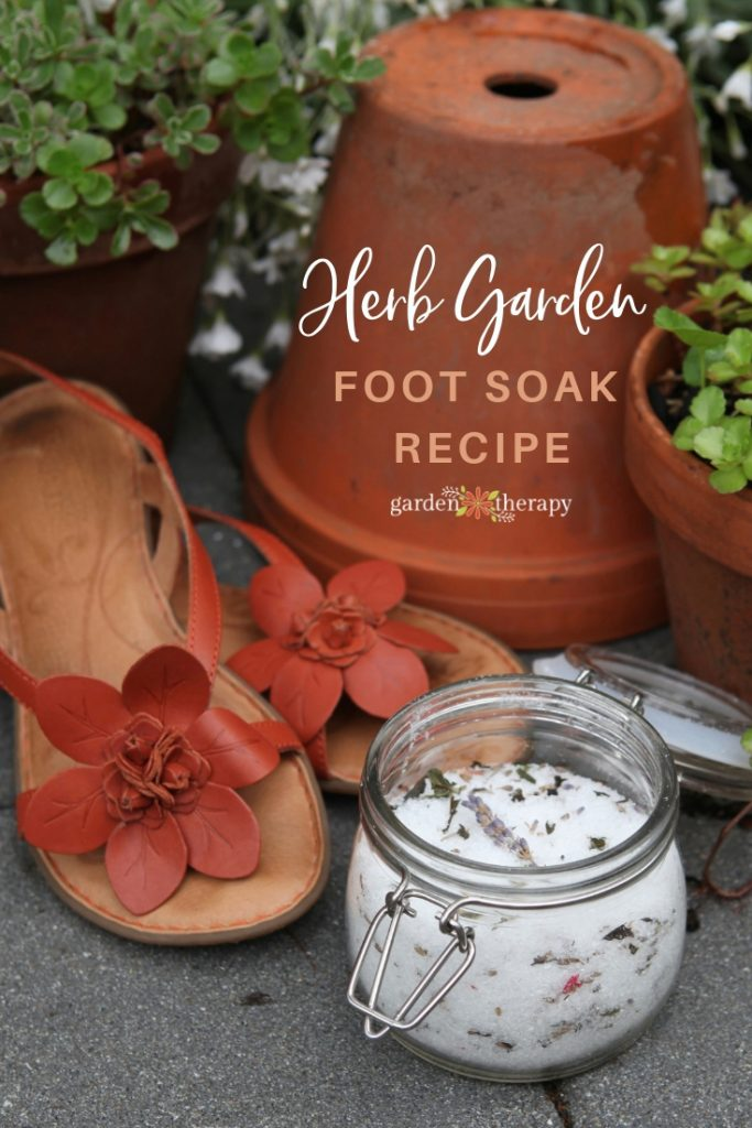 Herb garden foot soak recipe