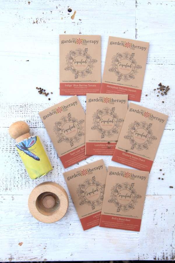 Paper pot maker and superfood collection seeds