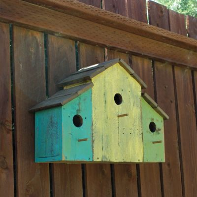 Give Wildlife a Helping Hand with DIY Wood Pallet Bird Apartments