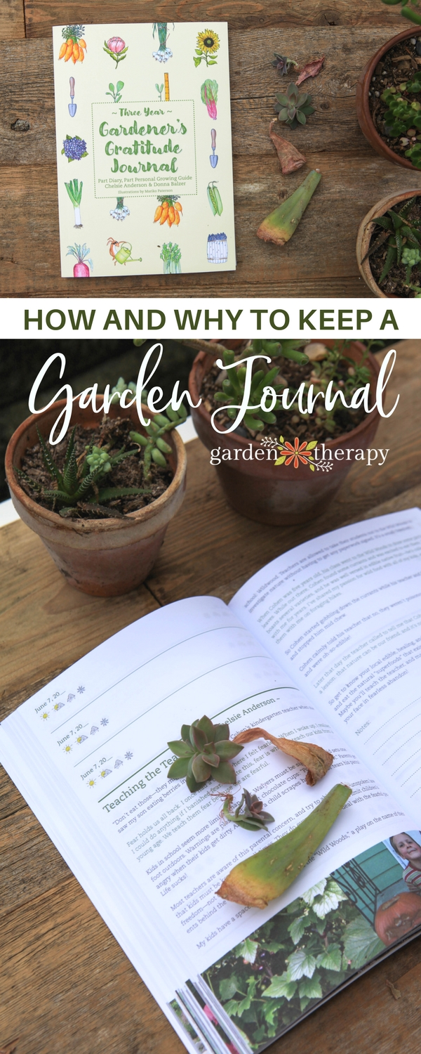 How and Why to Keep a Garden Journal