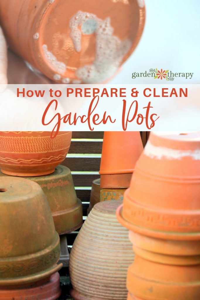 How to Prepare and Clean Garden Pots