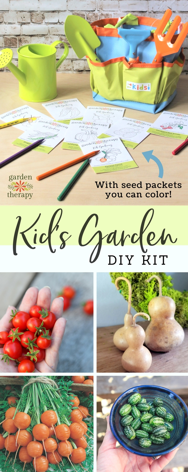 Kids' Vegetable Garden DIY Kit