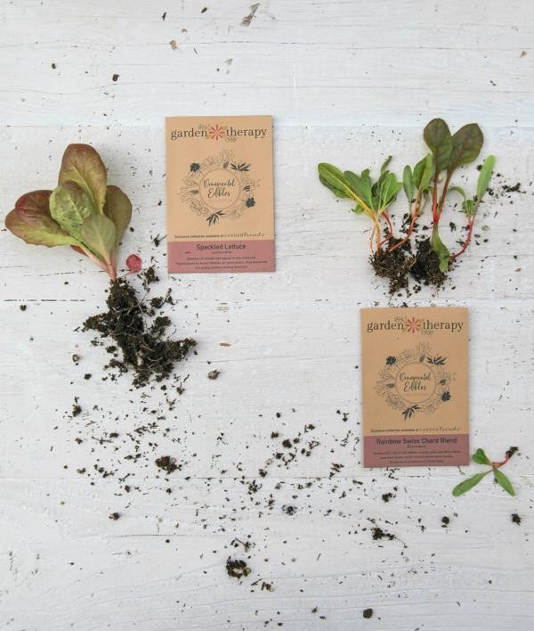 Ornamental Edibles seed packets