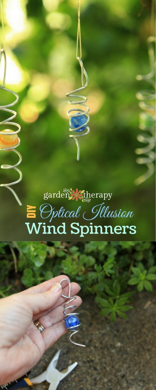 DIY Wind Spinners