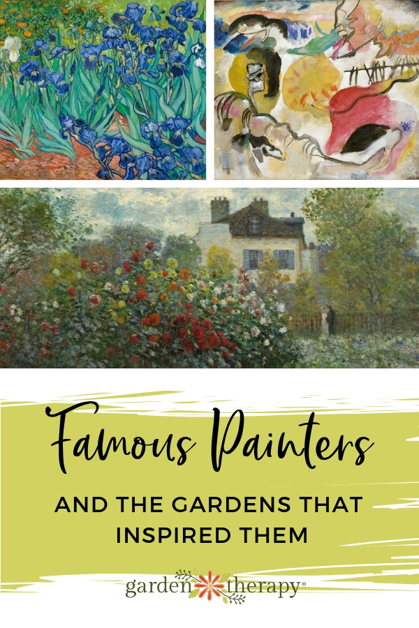 Famous Painters and the Gardens That Inspired Them