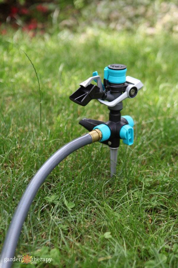 Choose the right sprinkler for your lawn