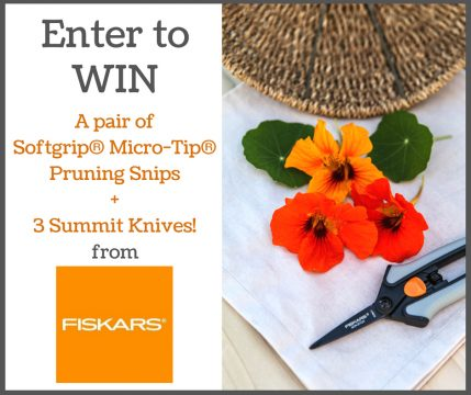 Enter to win a gift from Fiskars