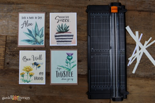 Printable Sympathy Cards and Fiskars Paper Cutter