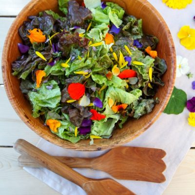 Add Some Color to the Table with Flowerfetti Salad