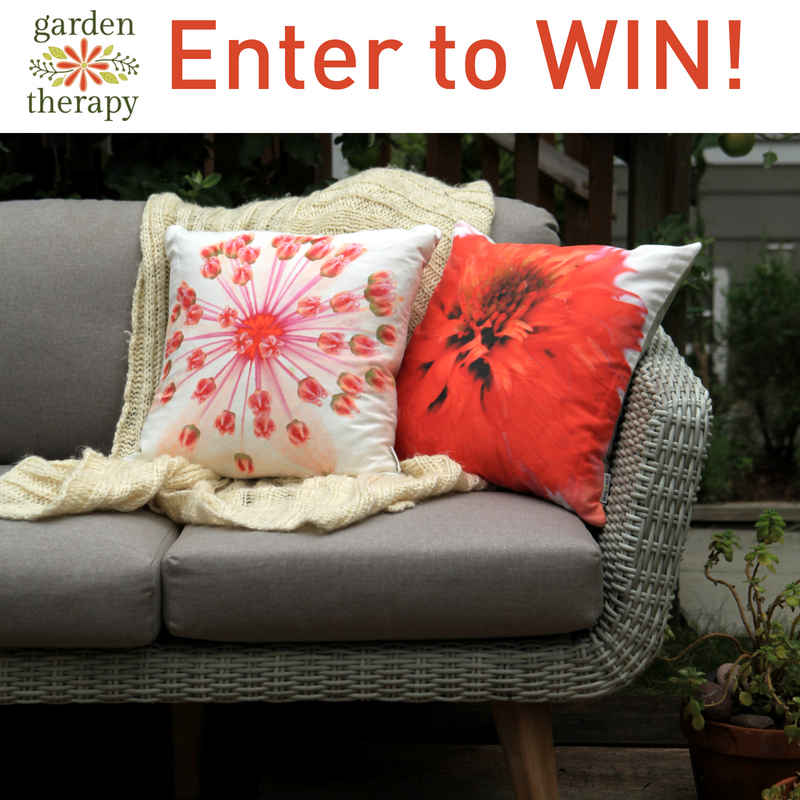 Garden Therapy Pillows Contest