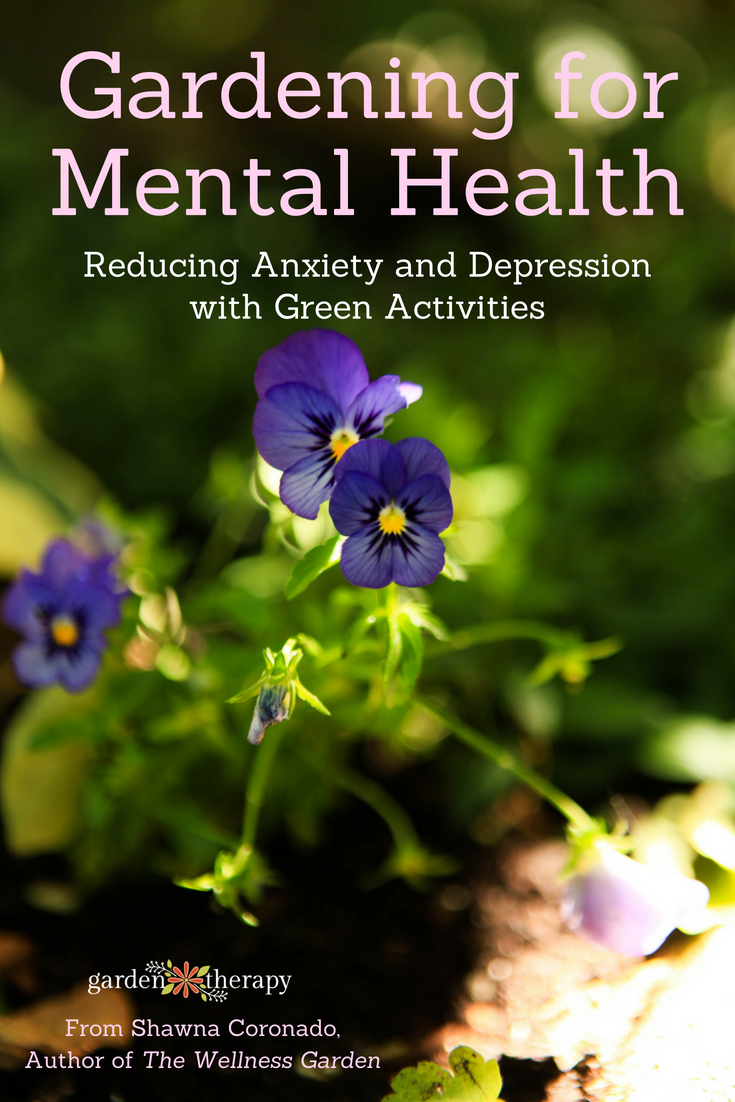 gardening for depression and anxiety
