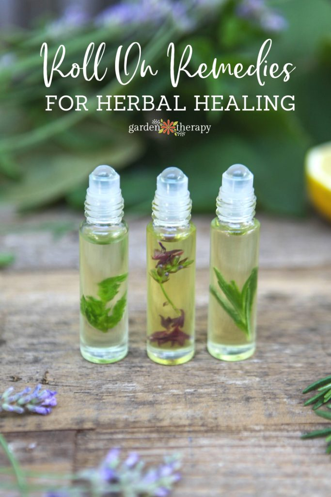 Roll On Remedies for Herbal Healing