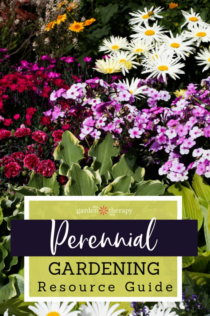 the ultimade perennial gardening resource guide