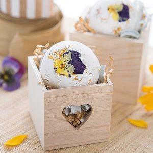 floral bath bombs