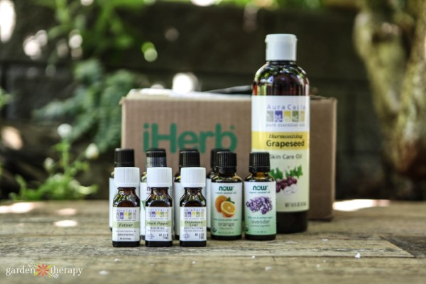 iHerb Online Order of Essential Oils