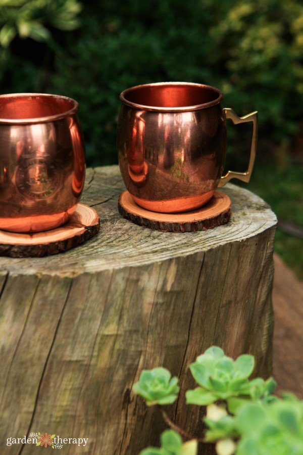 metal outdoor cups