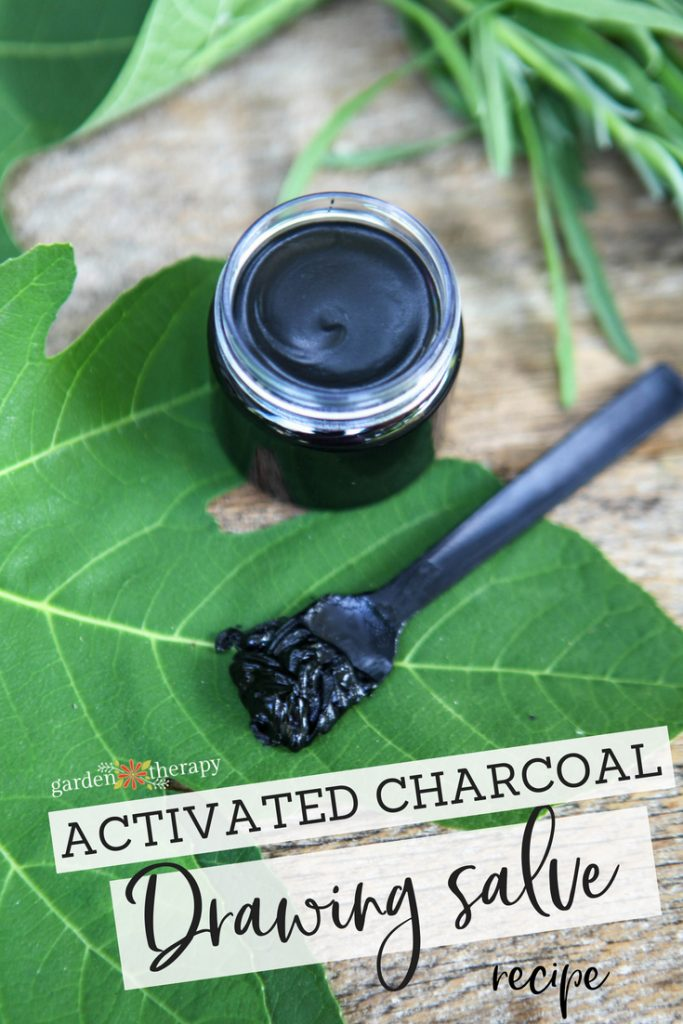 activated charcoal drawing salve recipe