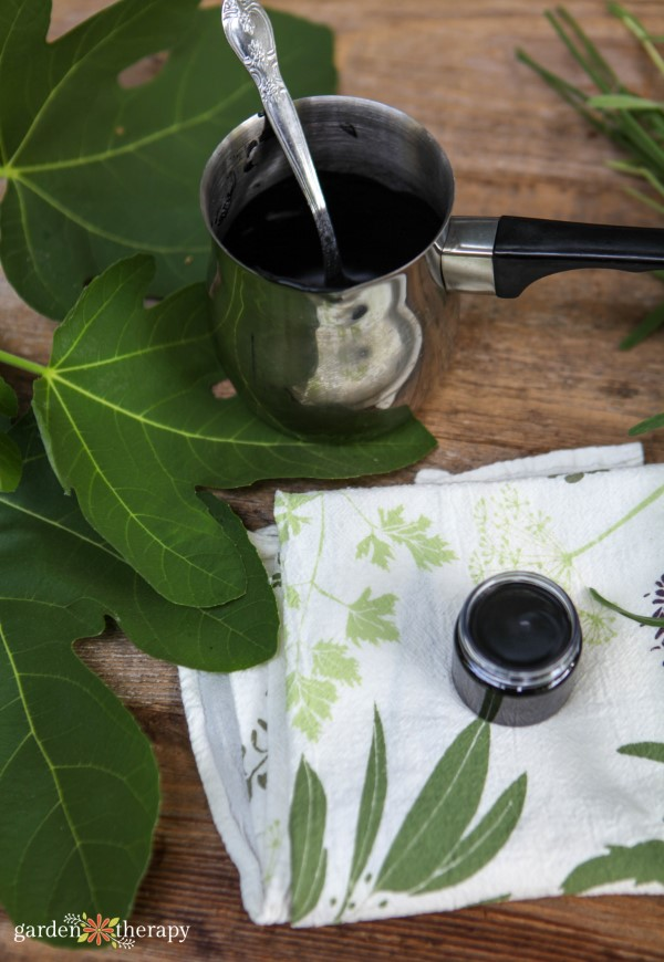 homemade charcoal drawing salve