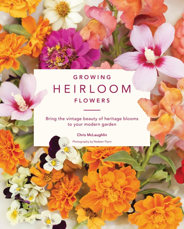 growing heirloom flowers book cover