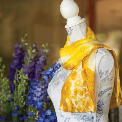 Natural Flower Dye for Fabric: How to Create a Marigold-Dyed Scarf