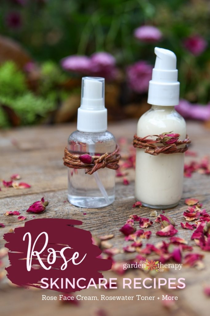 Homemade Rose Skincare Recipes