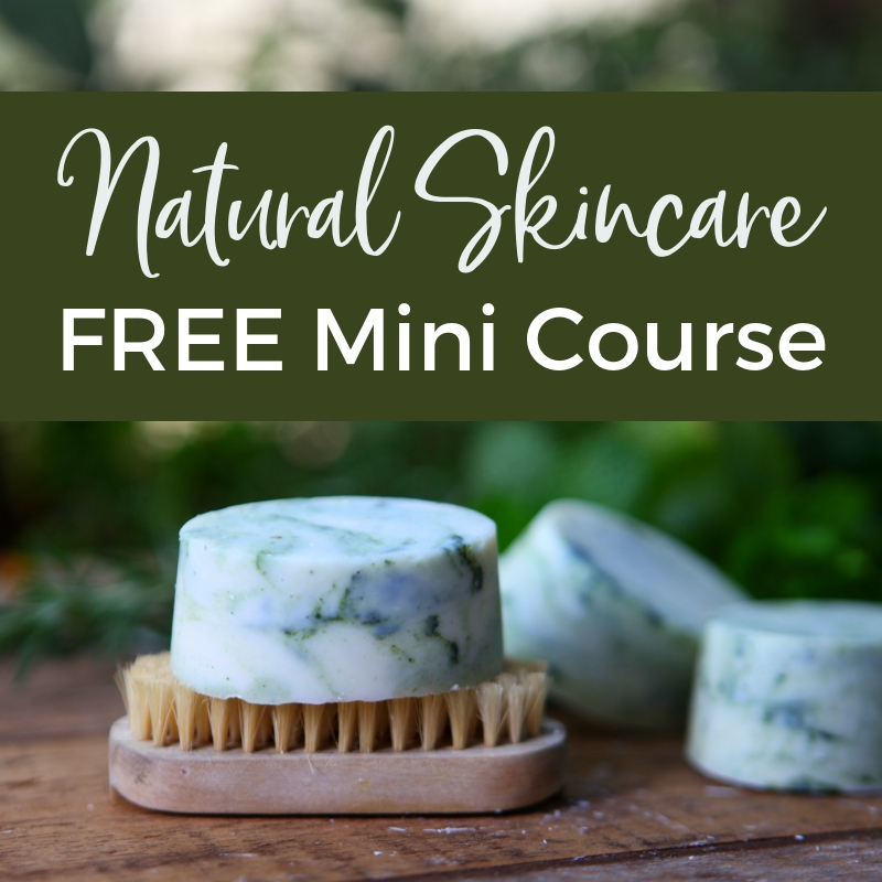 Natural Skincare Free Mini Course