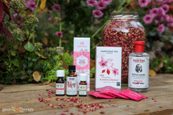 iHerb organic rose products