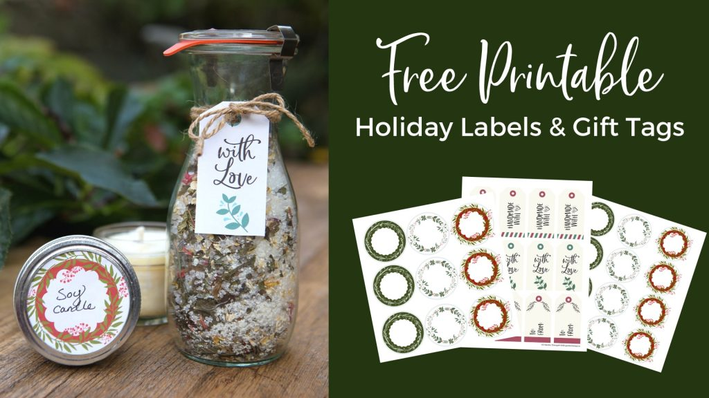 Free Printable Holiday Labels and Gift Tags