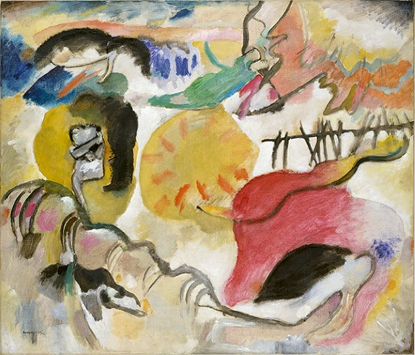 Wassily Kandinsky, The Garden of Love (Improvisation Number 27).