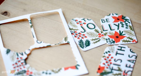 Make Your Cards into Gift Tags
