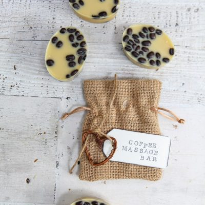 Coffee Bean Massage Bars Recipe