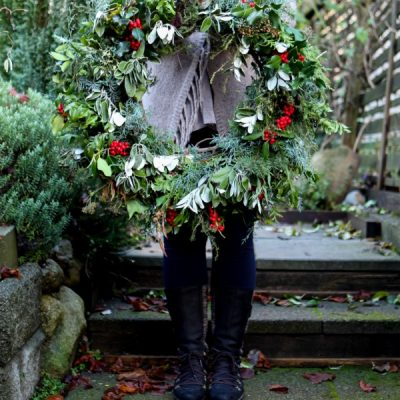 Garden Therapy Christmas Wreaths Throughout the Years