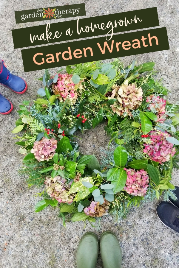 How to Make a Homegrown Garden Wreath