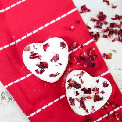 Romancing the Bath with Rose Petal Bath Bombs