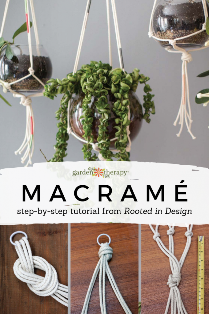 Step-by-Step Macrame Tutorial from Rooted in Design