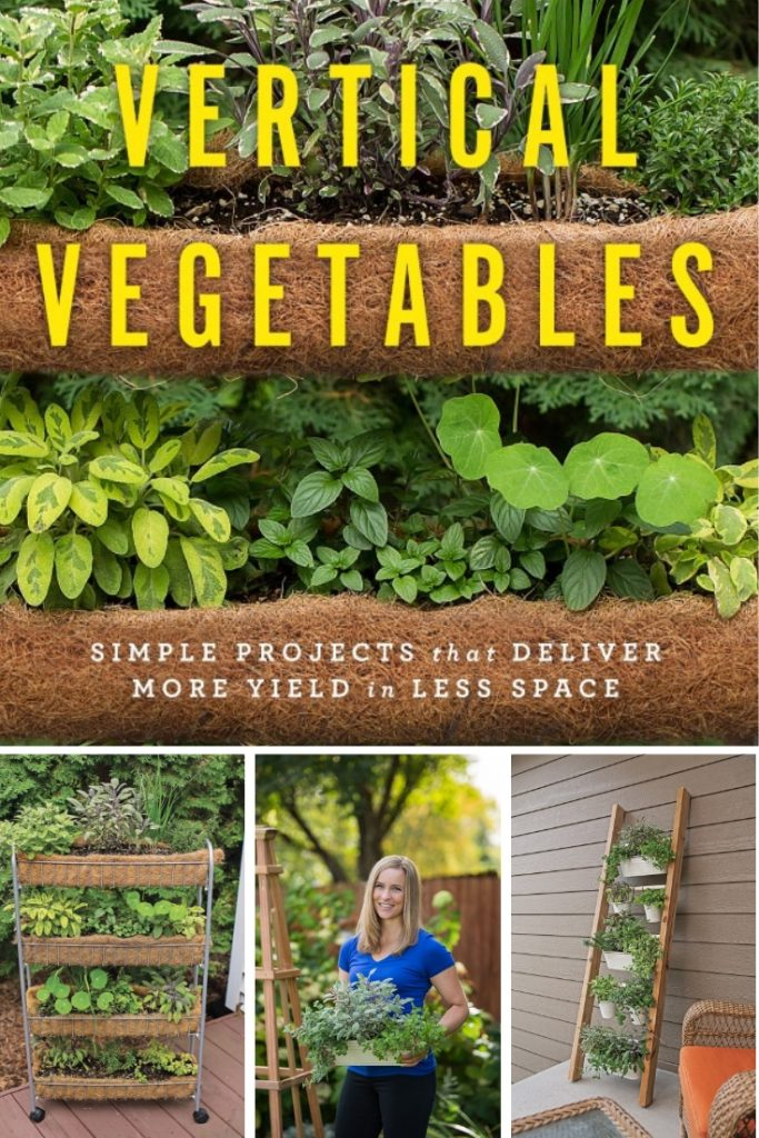 Vertical Herb Garden Ideas from Vertical Vegetables