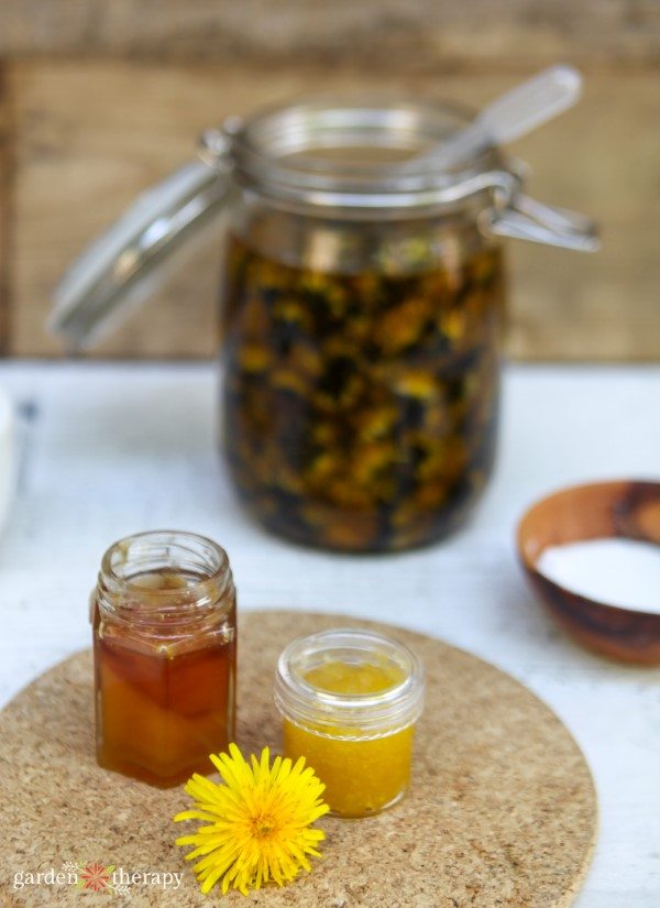 Using Dandelion Herbal Oil in Skin Care Recipes