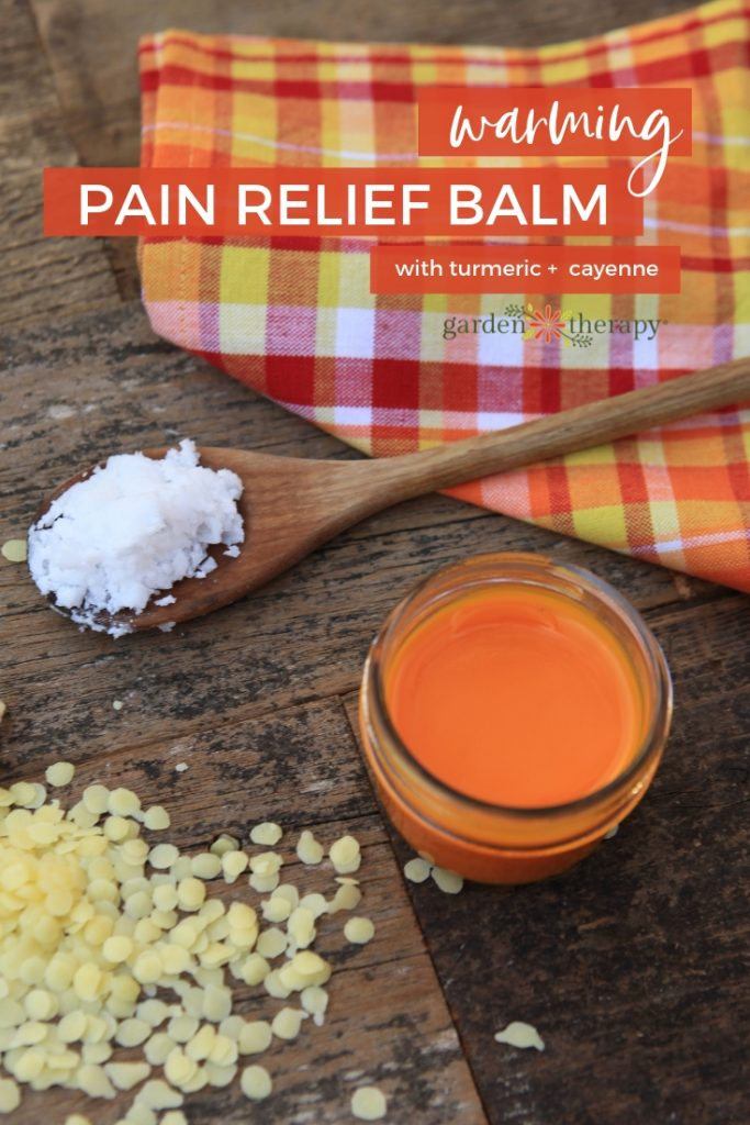 Warming Turmeric and Cayenne Pain Relief Balm