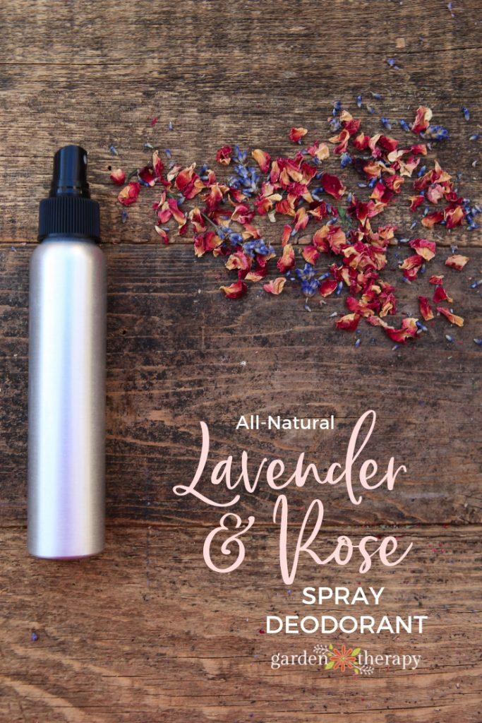 Lavender Rose Spray Deodorant Recipe