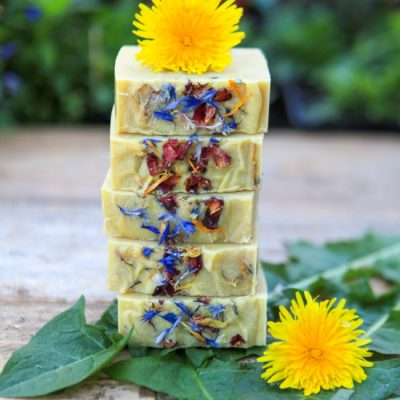 Wildflower Soap (Cold Process Recipe)