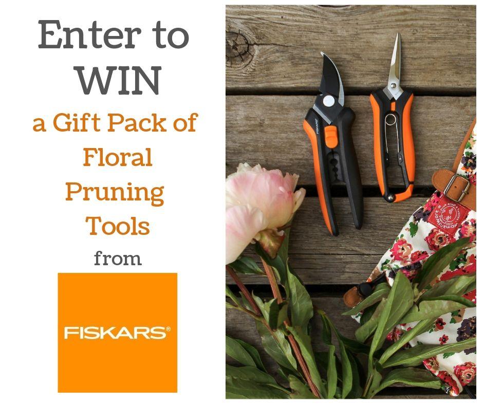 Flower Pruning Fiskars Tools Giveaway