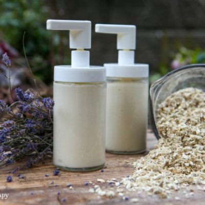 Lavender + Marshmallow Root Homemade Conditioner for Dry Hair