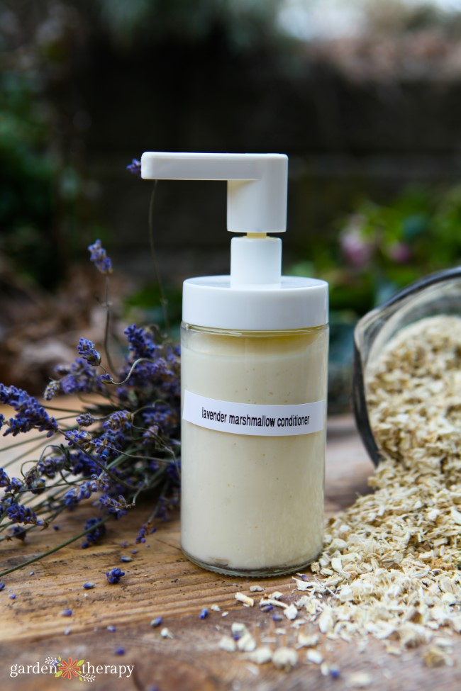 Lavender and Marshmallow Homemade Conditioner