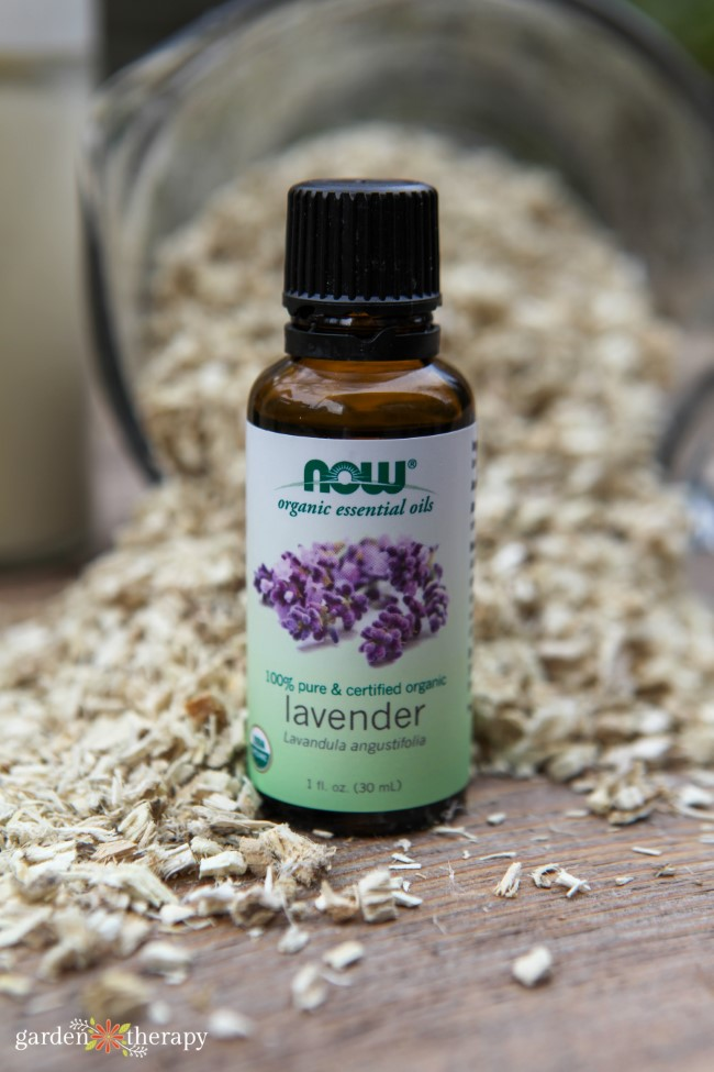 Organic Lavender Essential Oil and Marshmallow root