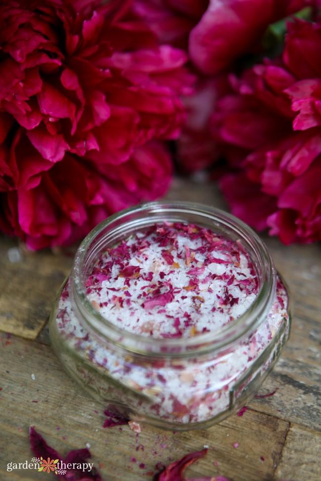 Pink Peony Bath Salts