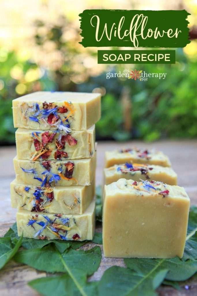 Wildflower Cold Process Soap Recipe